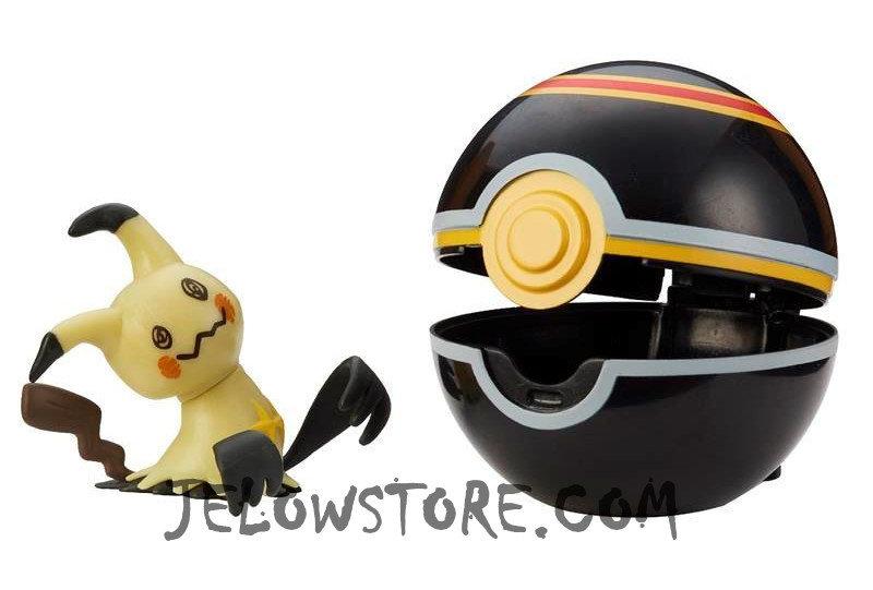 Pokémon [Pokéball Clip 'N' Go]: Mimiqui + Luxe Ball
