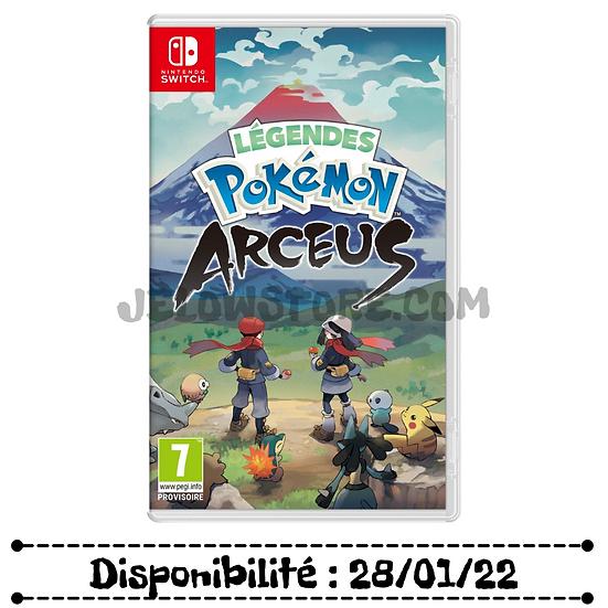 Nintendo Switch Pokémon - Légendes Pokémon : Arceus FR