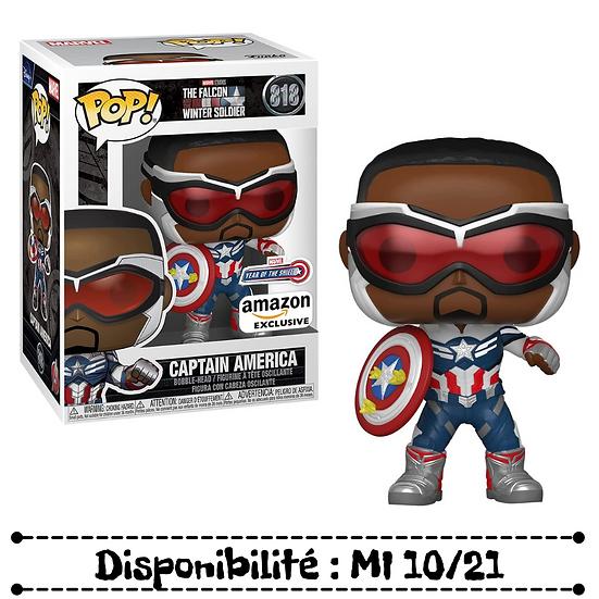 Funko pop [Thefalconandthewintersoldier] Captain america - #818