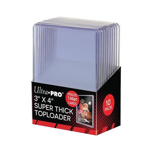 Ultra Pro - Toploader x10 - 130PT