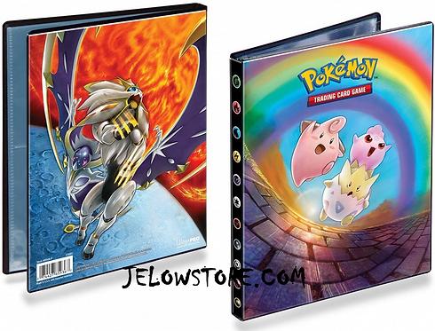 Portfolio Pokémon A5 / 4 pochettes [SL12 Eclipse Cosmique]