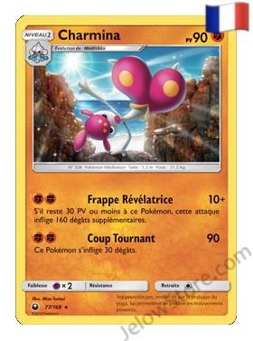Carte Pokémon SL7 Tempête Célèste Charmina Fr 77/168