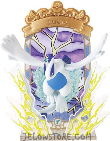 POKEMON - STAINED GLASS COLLECTION - Lugia