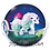 figurine ponyta de galar pokemon center