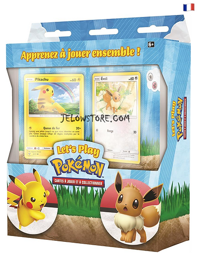 Coffret 2 Decks [LET'S PLAY PIKACHU ET EVOLI] FR