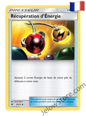 RECUPERATION D'ENERGIE 59/73 FR [SL3.5 LEGENDES BRILLANTES]