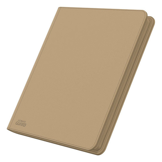 Portfolio 12-Pocket QuadRow ZipFolio XenoSkin [Ultimate Guard] - Sable