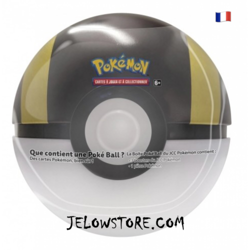Poké Ball Tin 3 boosters [HYPER BALL] FR