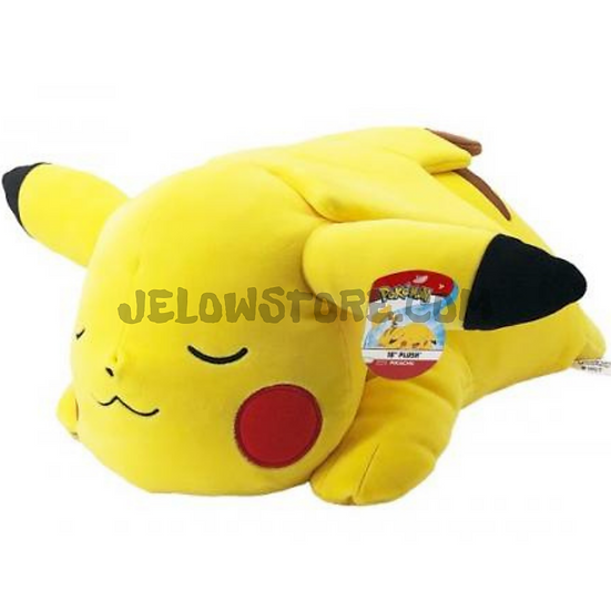 Peluche Pokémon BOTI 46cm [Pikachu Sleeping]