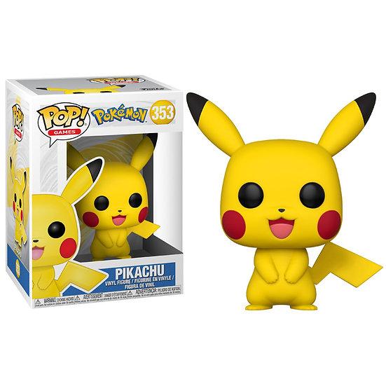 Figurine Funko POP Pokémon - Pikachu 353 + protection