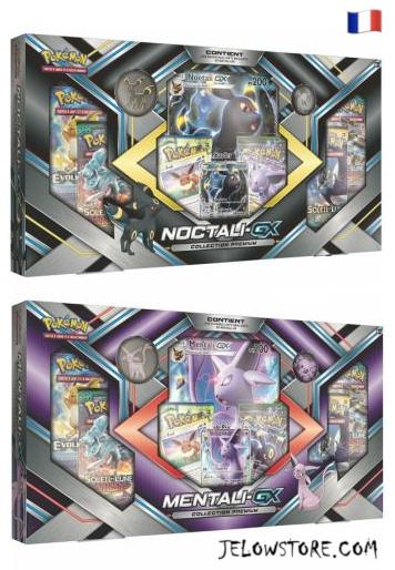 coffret collection premium noctali GX et mentali GX