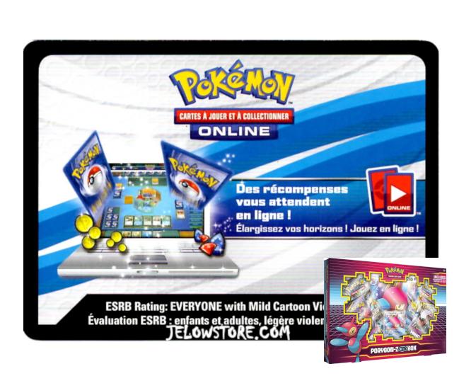 Code Online Pokémon - 1x Coffret Porygon-Z GX
