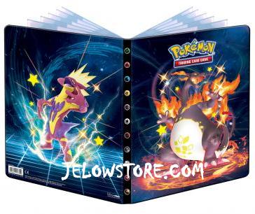 Portfolio Pokémon A4 / 9 pochettes [EB4.5 Destinées Radieuses]