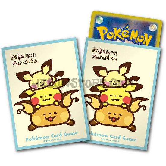 TCG JAP - Sleeve [Pokémon Yurutto Pikachu] x64