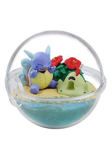 POKEMON TERRARIUM FOUR SEASONS - Carabaffe et Bacabouoh