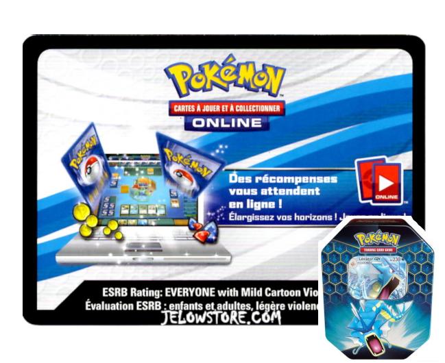Code Online Pokémon - 1x Pokébox Léviator-GX [SL11.5]