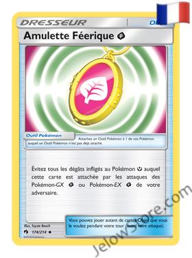 AMULETTE FEERIQUE 174/214 FR [SL8 TONNERRE PERDU]