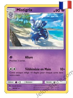 Carte Pokémon SL3 Ombres Ardentes Mistigrix FR 60/147
