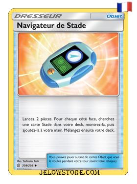 NAVIGATEUR DE STADE 208/236 FR SL11 HARMONIE DES ESPRITS