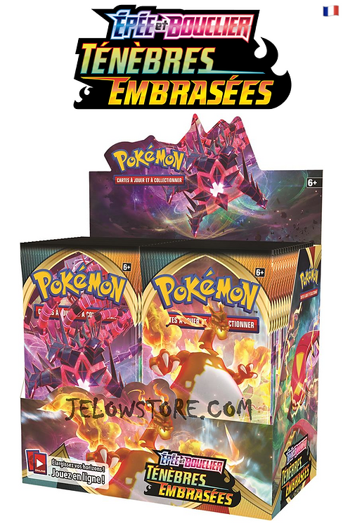 display pokemon eb03 ténèbres embrasées