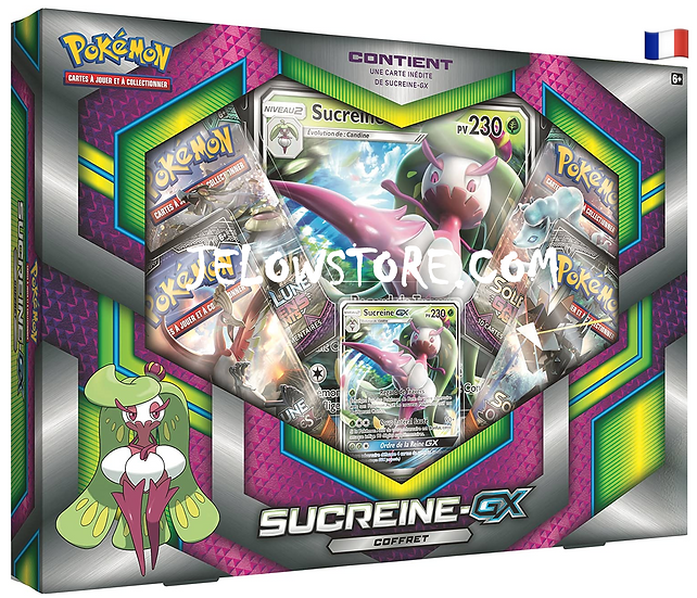 Coffret Pokémon [SUCREINE-GX] FR