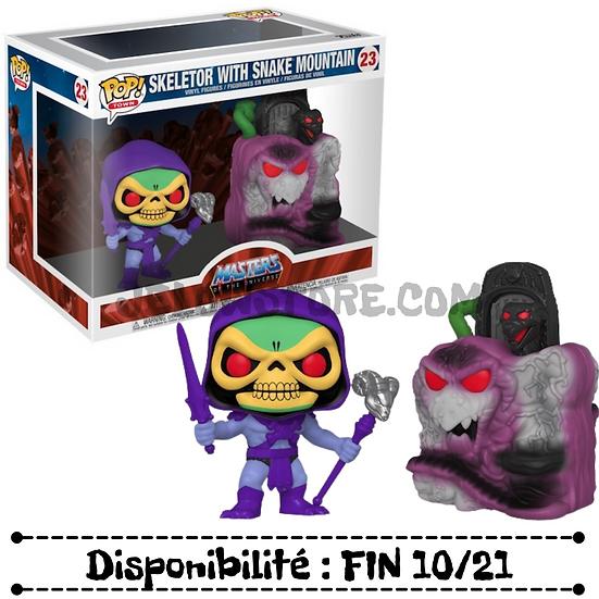 Funko pop Town [Les Maîtres de l'Univers] Skeletor with Snake mountain - #23