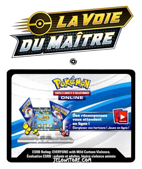 Code Online Pokémon - 1x booster [EB3.5 LA VOIE DU MAITRE]