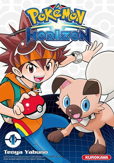 manga pokemon horizon tome 1 fr