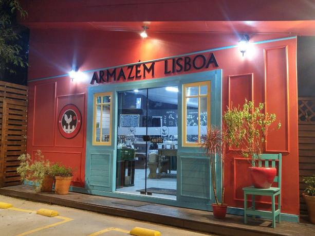 Fachada Comercial Armazém Lisboa, Cacupé - Floripa-SC