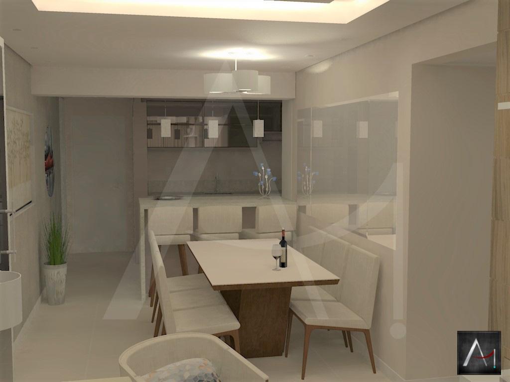Sala de Estar e jantar e cozinha