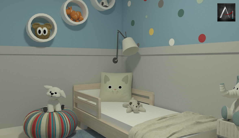 Dormitório Infantil Escandinavo