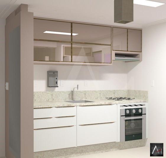 Cozinha Americana Clean - Casa Nova
