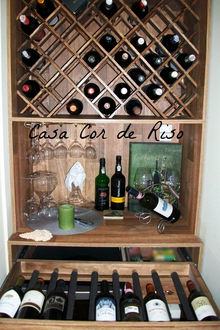 Mini Adega Caseira - Wine and Bubbles