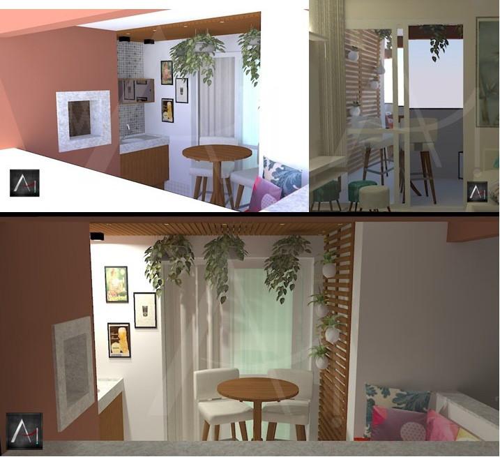 Sacada de apartamento II