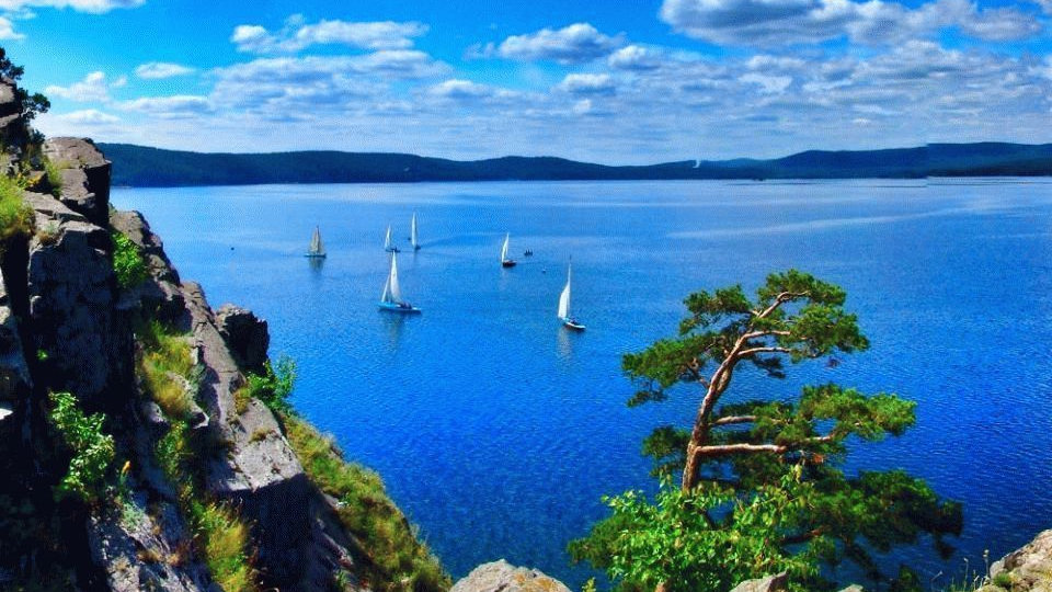 Озеро Тургояк + Йога