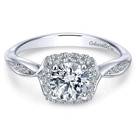 Gabriel & Co. Rings stocked by T. Gabel Jewelry in Chandler