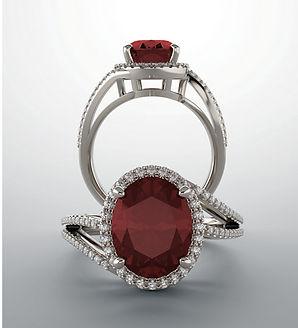 Custom Ring Chandler T Gabel Jewelry