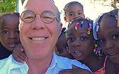 Dennis Hartley representing InStove in Haiti
