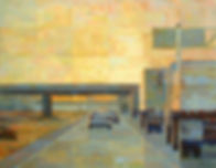 Freeway abstract painting