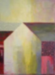abstract American barn
