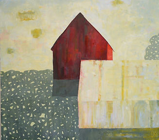 abstract American barn