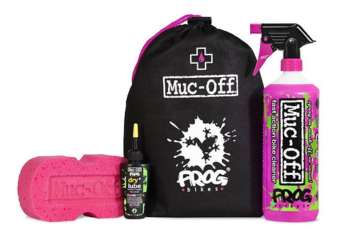 Muc-Off X Frog Bikes clean and lube kit
