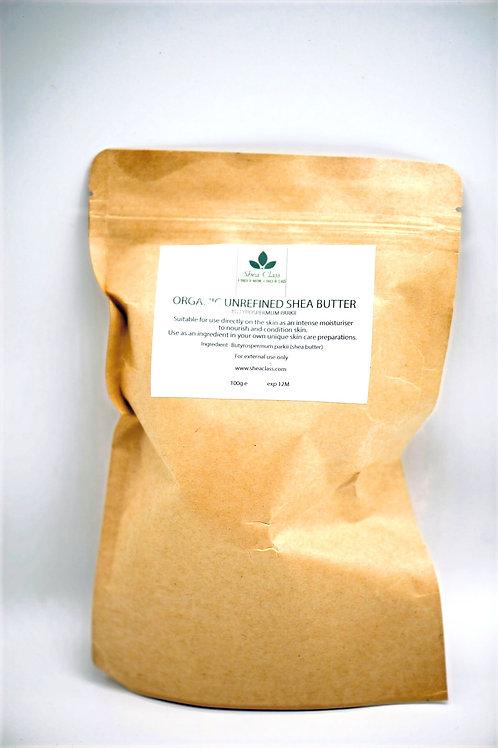 Organic Unrefined Shea Butter 100gm