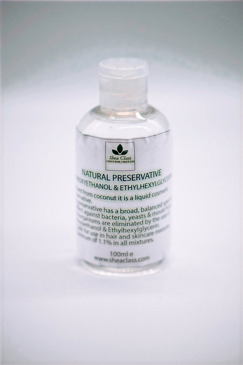 Natural Preservative - Phenoxyethanol & Ethylhexylglycerin