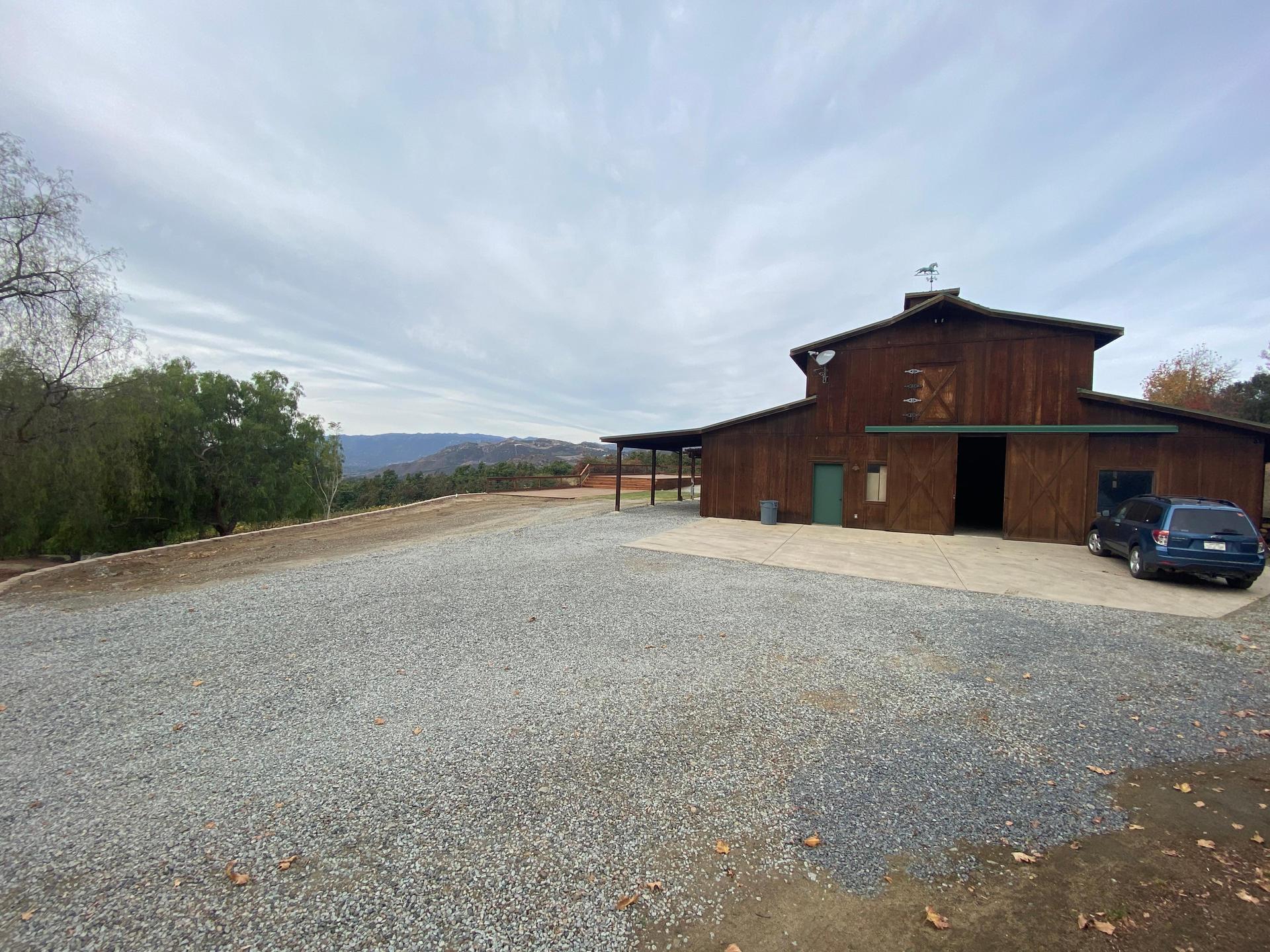 Barn Deck Right (New Landscaping Feb 2021)