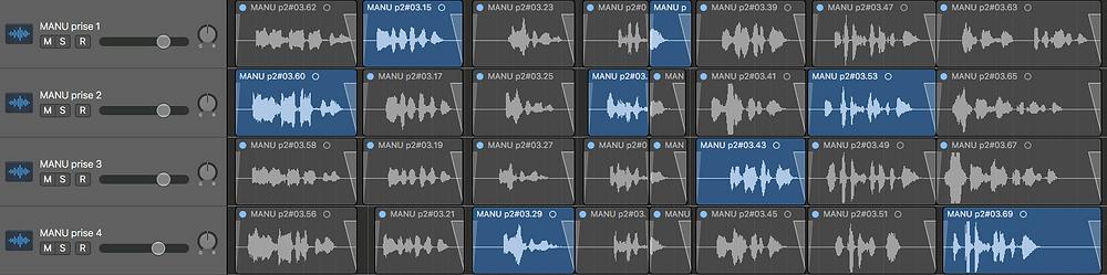 Montage son audio logic pro Karl Niaudot mixage