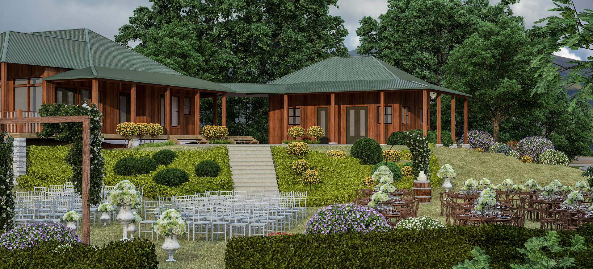 Great Lawn Event Rendering