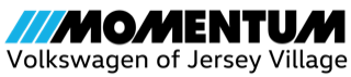 Momentum VW Jersey Village logo  (Black)