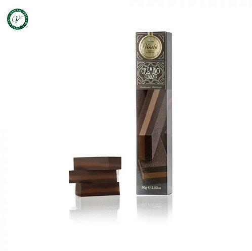 Venchi Cremino zachte chocoladereep, puur - 20stuks