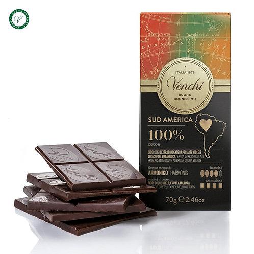 Pure chocoladereep 100% Zuid-Amerika blend  - 24stuks
